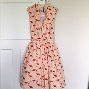 Chicwish flamingo dress